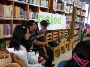 "Readers Families in Community Library ""Windows open to future"", Chiché (Guatemala)"