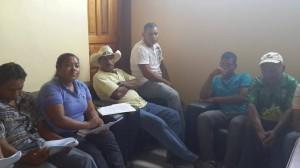 Representatives of Boards, Community Library and Parent Association, negotiate with the local Government with the benefit of the community libraries.  (Library Las Pilas, San Antonio y Sulaco, Honduras)